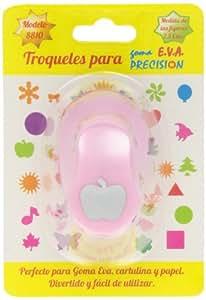 Garriga - Taladro goma Eva troquel de 2,5 mm Manzana (2412)