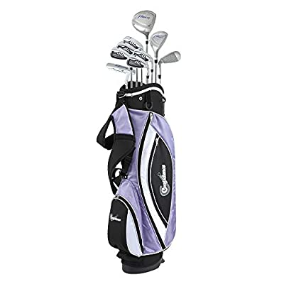 Confidence LADY POWER III Golf Club Set & Stand Bag by Golf Outlets of America, Inc.