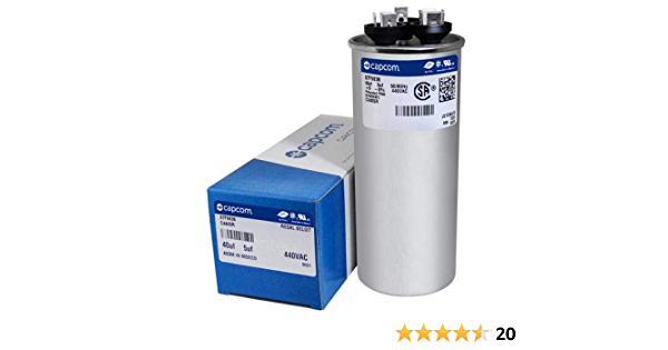1 uF. power supplies ADP440E105J Capacitor Motor Run 440 VAC pumps fans