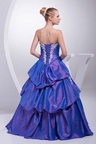 BRIDE GEORGE AbendKleid mit Magnifique Dekoration formales Koenigsblau wzqvzdT