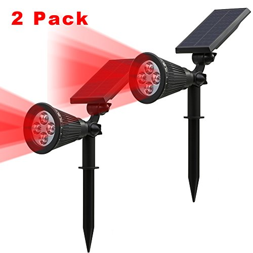 Red Solar Lights - 9
