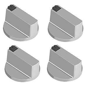 6 mm Cocina de gas cocina de botones universal aleación de cinc ...