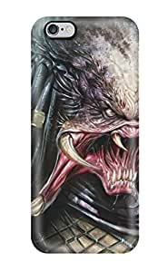 JudyRM TitpGhJ3846NtRBS Case Cover Skin For Iphone 6 Plus (the Predator And His Crab Face)