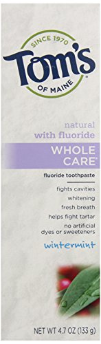 Du Maine entier Natural Care Dentifrice Tom, Wintermint, 4,7 once