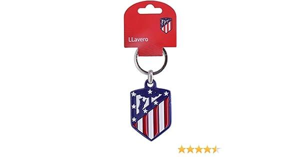 Atlético de Madrid - Llavero escudo metal