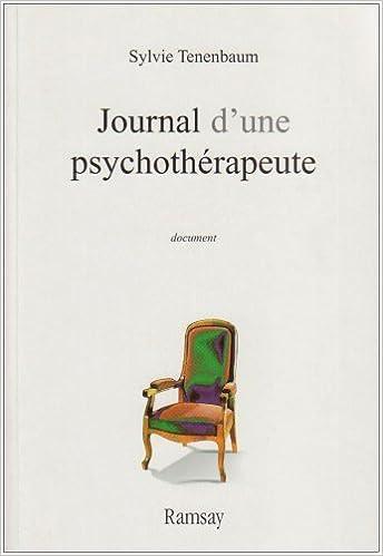 Livre gratuits en ligne Journal d'une psychothérapeute pdf