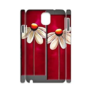 red floral DIY 3D Cell Phone Case for Samsung Galaxy Note 3 N9000 LMc-30626 at LaiMc