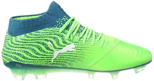 puma 18 deep Gecko Green Fußballschuhe White Puma Lagoon Herren 1 One FG Grün RxowzSqEpP