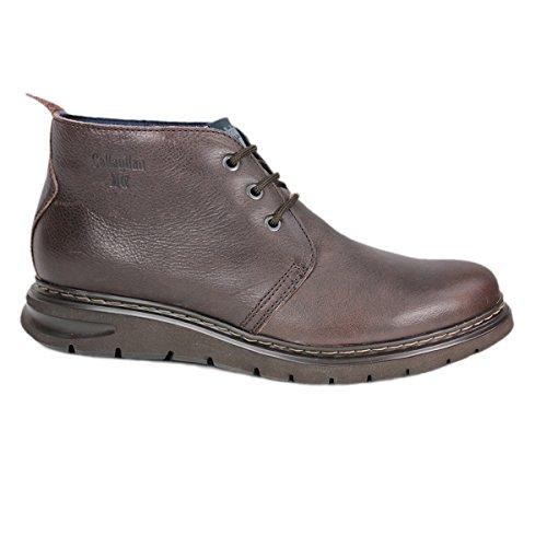 Callaghan 89300 Balak - Botas de cordones marrón para hombre