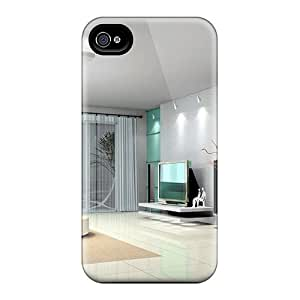 New Style Archerapp48a8 Living Room 3d Model Premium Tpu Covers Cases For Iphone 6