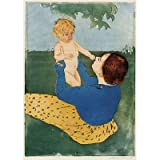 Mary Cassatt (Under the chestnut tree) Art Poster Print