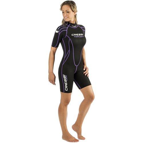 Cressi Shorty Ladies Wetsuit for Water Activities   Tortuga 2.5mm Premium Neoprene