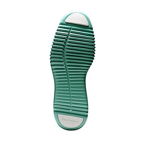 Cole Haan Mens 2.0 Zerogrand Stitchlite Oxford Vapore Grigio-piscina Verde Maglia