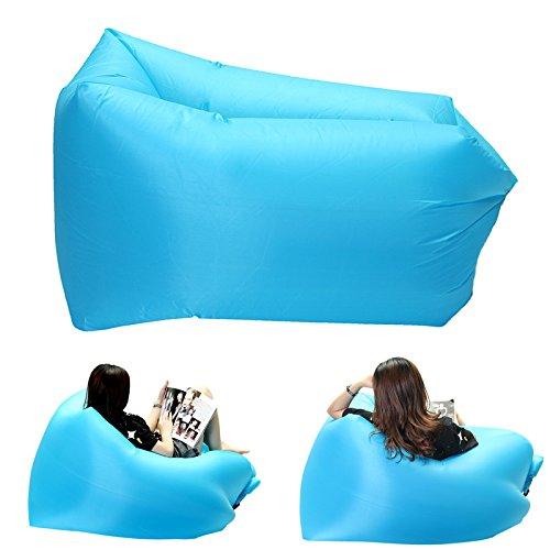 datc–Camp ropa de cama–al aire última intervensión Mini square-headed Lazy asiento sofá rápido aire hinchable...