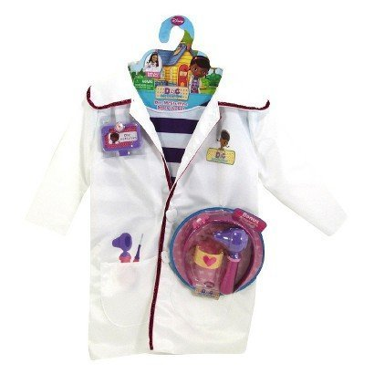 Disney Doc McStuffins Doctors Coat Costume Set with Shirt and Bonus Accessories]()
