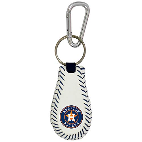 GameWear MLB Houston Astros Baseball Keychain, One Size, Black