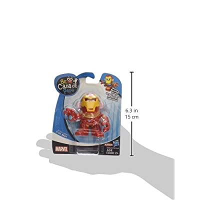 Mr. Potato Head Iron Man Mixable Mashable Heroes Mr. Potato Head as Iron Man Figure: Toys & Games