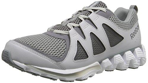 Reebok Men's Zigkick 2K15 Running Shoe, Flat Grey/Shark/White/Light Solid Grey, 11 M US