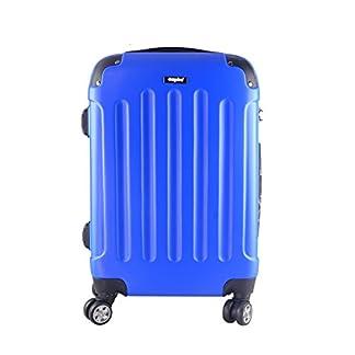 Sunydeal – Maleta Equipaje Rígida,Candado TSA, 4 Ruedas multidireccional,20″,24″,28″Negro,Azul,Azul Marino,Marrón