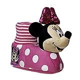 Disney Minnie Mouse Slipper Socks | Warm Plush Lightweight Slippers