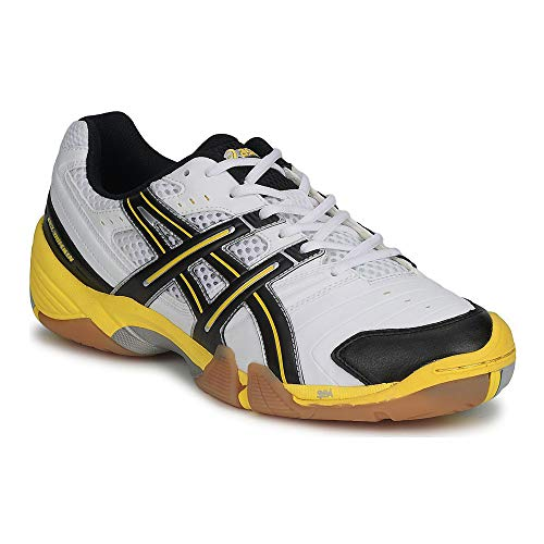 Amarillo Negro Hombre Asics Para De Baloncesto Zapatillas domain Gel Blanco qwxB874zw