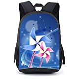 CARBEEN 17 Inch Ball Backpack Students Bookbag (printing)