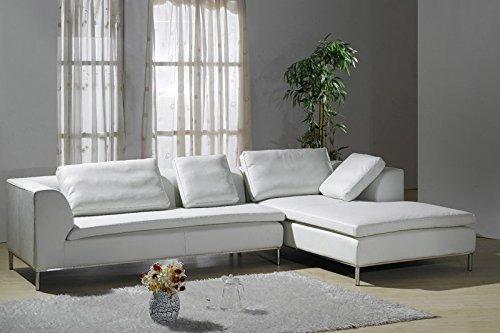Design Voll-Leder Ecksofa-Sofa-Garnitur-Eckgruppe 299-RWoH