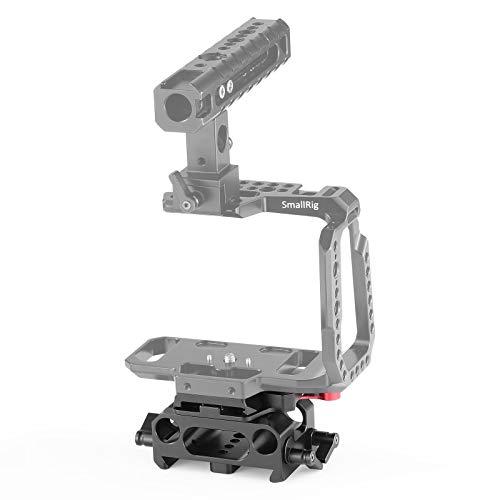 SMALLRIG BMPCC Baseplate for Manfrotto 501PL Compatible with Black Design Pocket Cinema Camera 4K - 2266