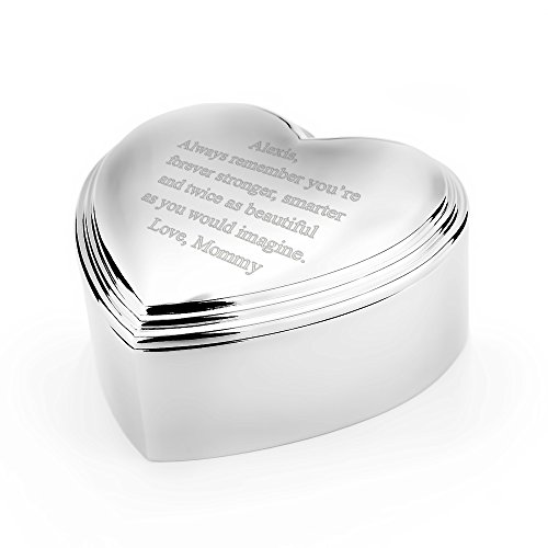 - Eve's Addiction Heart Shaped Keepsake Jewelry Box