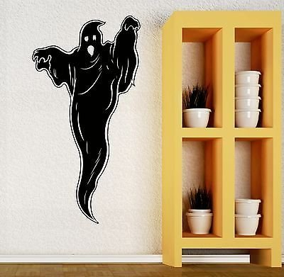 Wall Decal Ghost Phantom Halloween Horror Vinyl Stickers