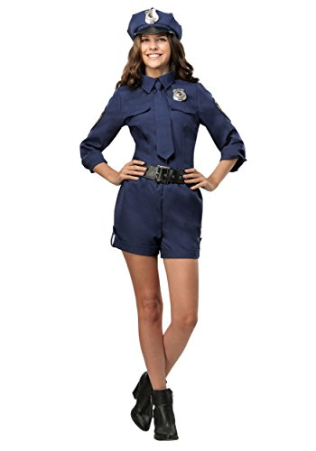 Police Officer Womens Costume X-Large Blue ()