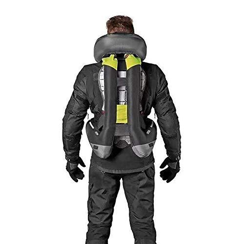 Motorcycle zipper Air-bag Vest Moto Racing Professional Advanced Air Bag system motocross protective airbag (BLACK, M)