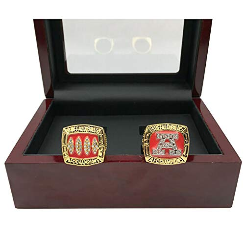 HASTTHOU Replica Championship Ring for Buffalo Bills Set Gift Fashion Gorgeous Collectible Jewelry