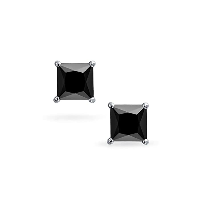 Amazon.com: Bling Jewelry – 925 Plata Cz cesta Set Princesa ...