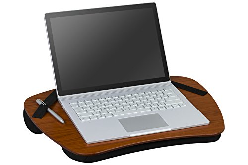 LapGear Executive Lap Desk,  - Cherry Woodgrain (Fits up to  15.6