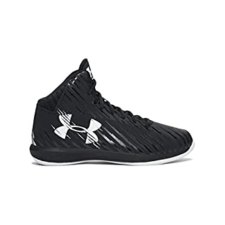 Under Armour Boys' Grade School UA Jet Mid Basketball Shoes