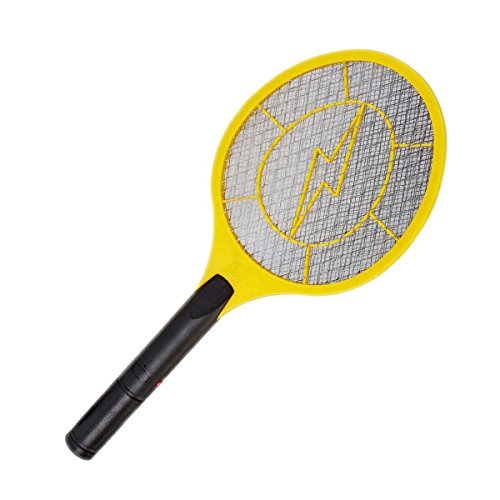 Harbor Freight Electronic Fly Swatter | 3 Layers Racket Style | Indor & Outdor by Electronic Fly Swatter
