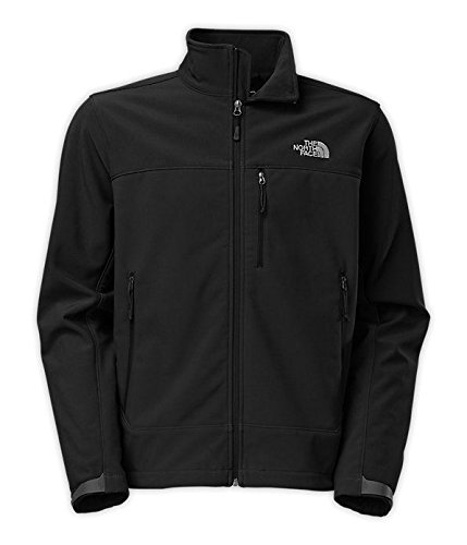 The North Face Mens Apex Bionic Windproof Jacket (TNF Black, Large)