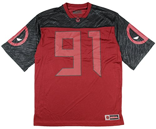 Marvel Deadpool Team Football Jersey product image