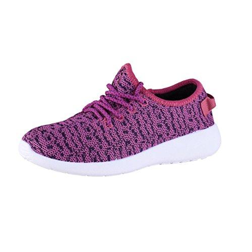 HSM Schuhmarketing, Scarpe outdoor multisport donna rosa Blau