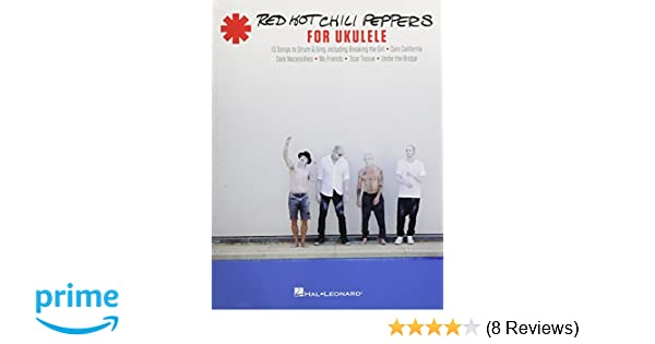 Amazon Red Hot Chili Peppers For Ukulele 9781495075285 Red