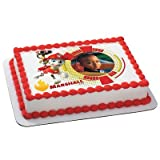 Paw Patrol: Marshall Personalized Photo Edible Icing