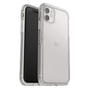 OtterBox Symmetry Clear Coque Renforcée, Fine, Élégante avec Arrière Transparent pour iPhone 11 pailleté