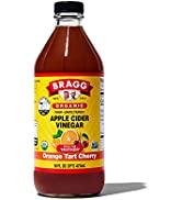 Bragg Organic Apple Cider Vinegar Blends 16oz, with Orange Tart Cherry