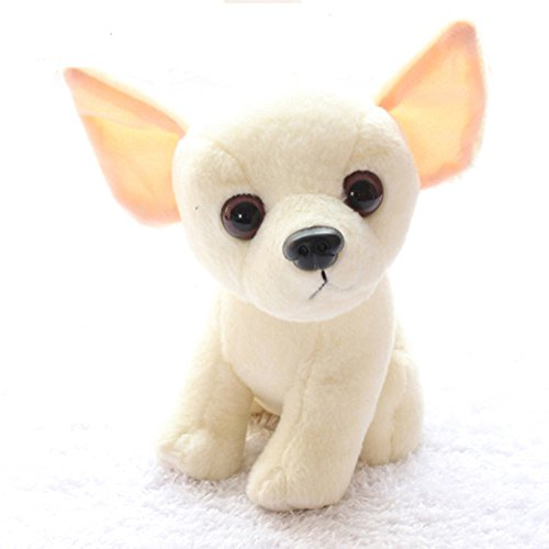 Stuffed Chihuahua Dog Puppy Toy Realistic Stuffed Animals by I-BEST