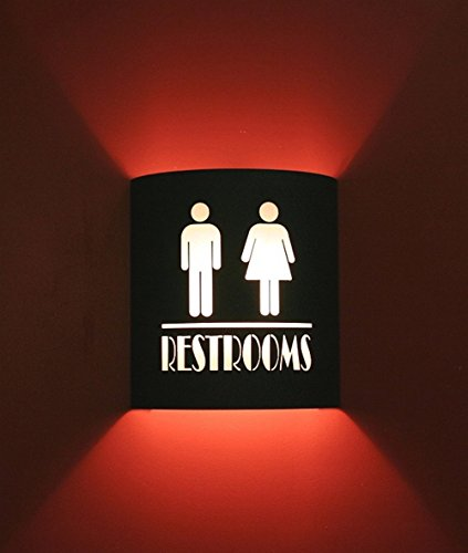 Restroom Black Home Movie Theater Sconces by Stargate