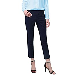 YTUIEKY Women's Ankle Pant Work Pants Stretch Trousers Summer Casual Pants for Women