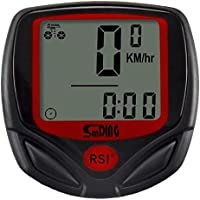 Sunding SD 548 B 14 Function Waterproof Bicycle Computer Odometer Speedometer by Robostore India