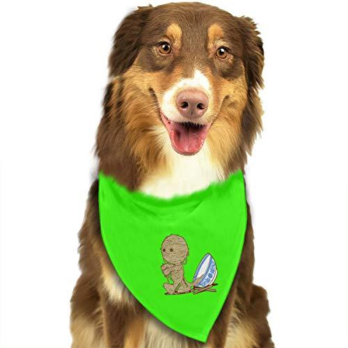 (JHDKDGH-N 'RAMEN'SES Return Puppy Dogs Cats Triangle Neckerchief Pet Bandanas Scarves)