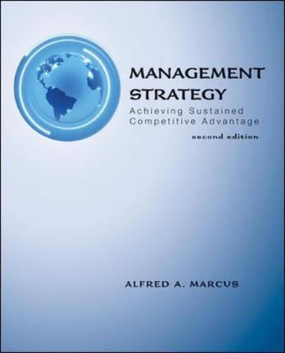 Management Strategy: Achieving Sustained Competitive Advantage (Achieving Competitive Advantage compare prices)